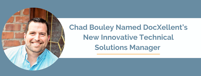Chad Bouley New Innovative Technical Solutions Manager