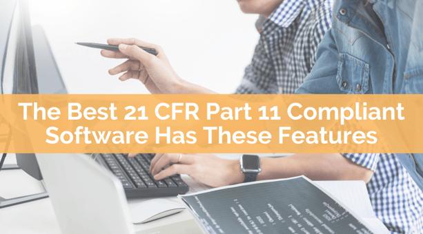 The Best 21 CFR PART 11 Compliant Software