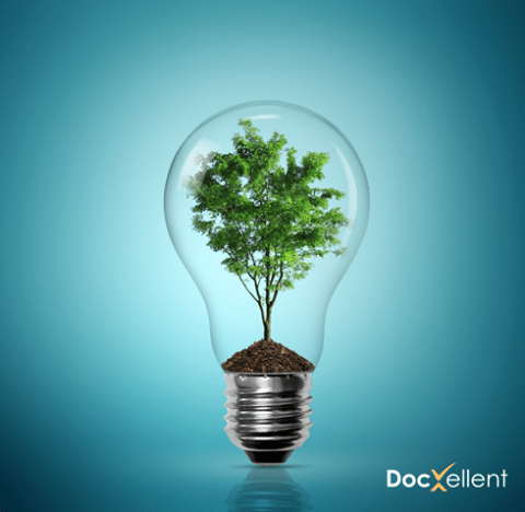 Green Document Management with DocXellent