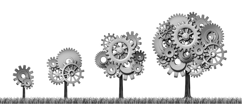 Document Management Tree Gears