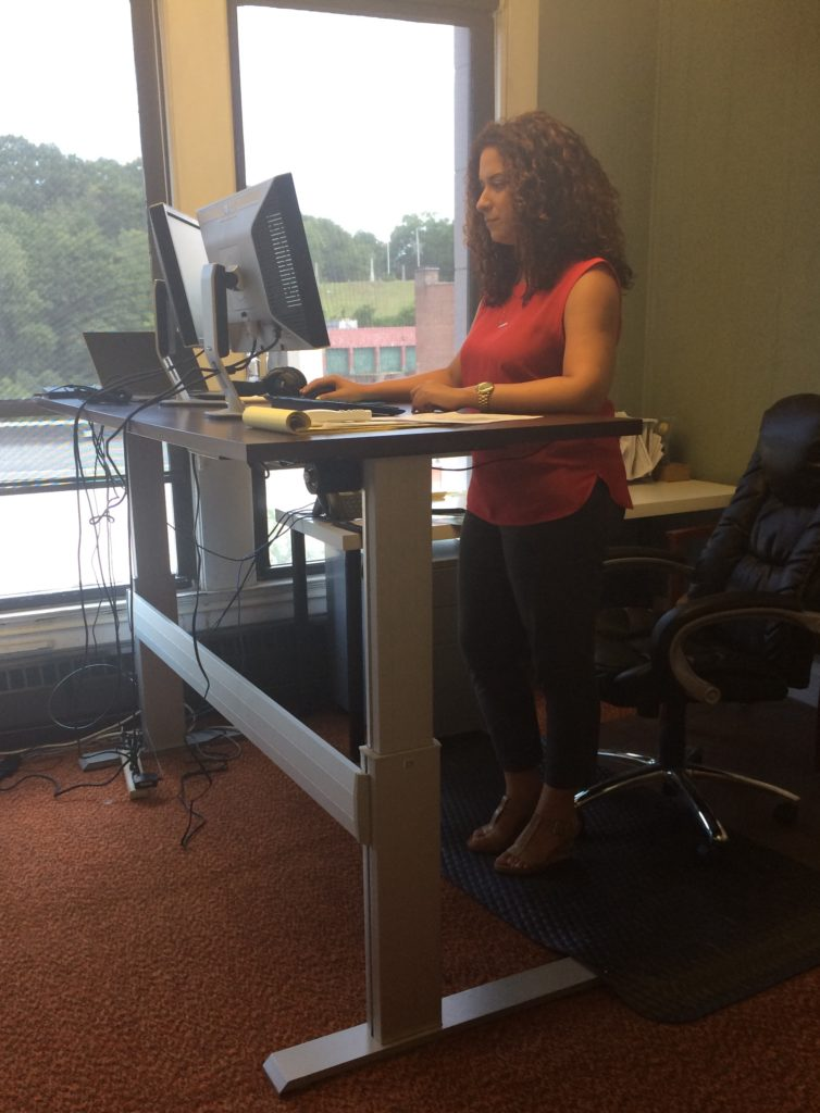 Document Management standing desk