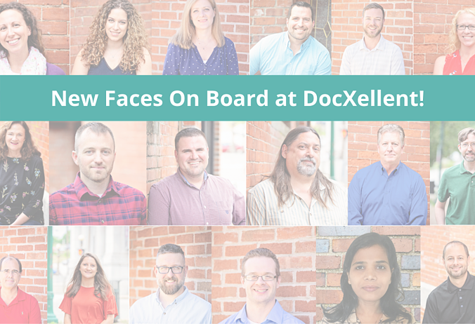 New Faces Onboard at DocXellent!